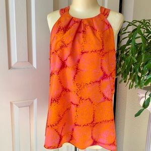 🔥Ann Taylor bold and beautiful sleeveless top